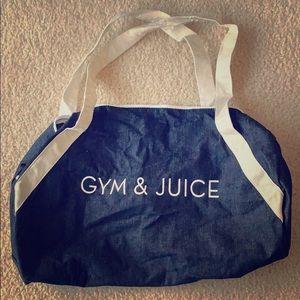 Gym & Juice [gym bag]